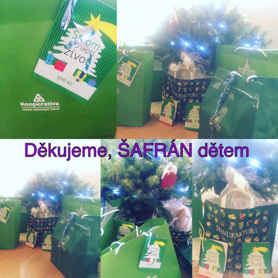 dáváte nám vánoční dárečky pro děti a dobrovolníky